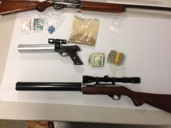 Police raid Wolf Creek home and find drugs, silenced guns