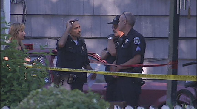 Police say a man died after a fight on Roosevelt - suspect in custody01