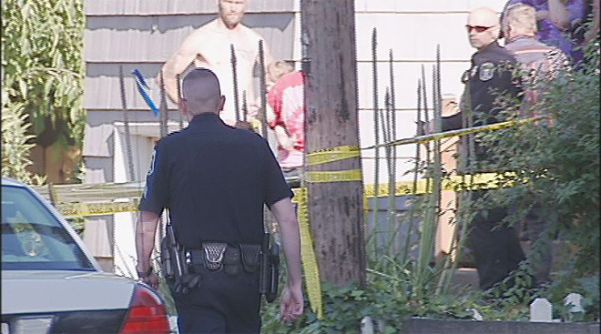 Police say a man died after a fight on Roosevelt - suspect in custody02