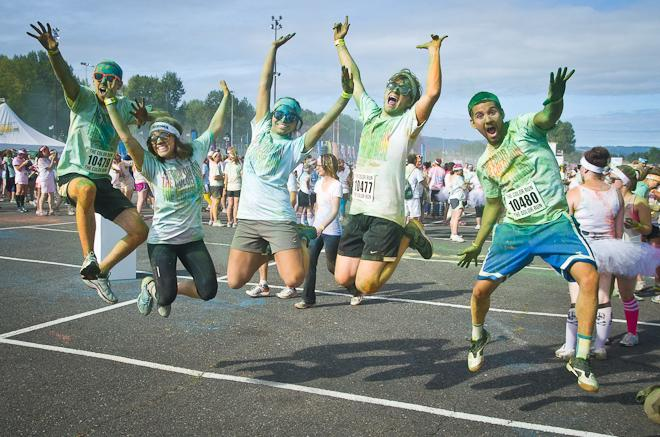 Portland Color Run