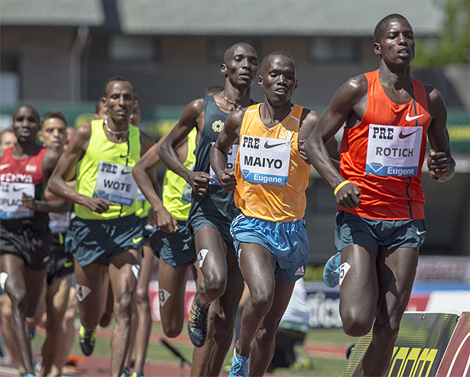 Records shattered in second day of the Prefontaine Classic