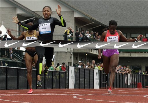 Allyson Felix doubling up at TrackTown12