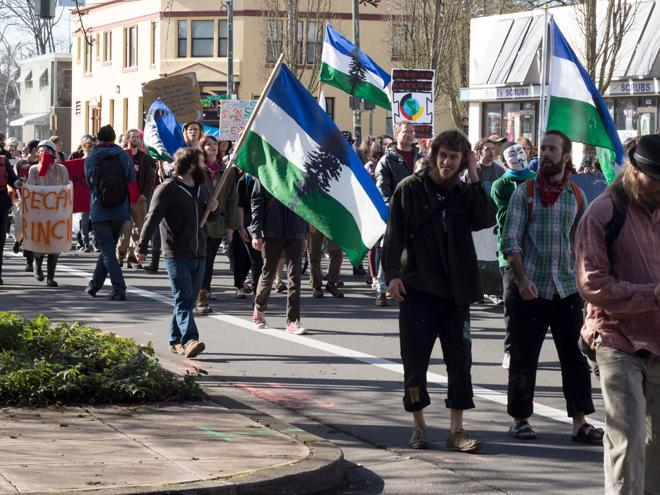 Protest March 3 in Eugene (4)