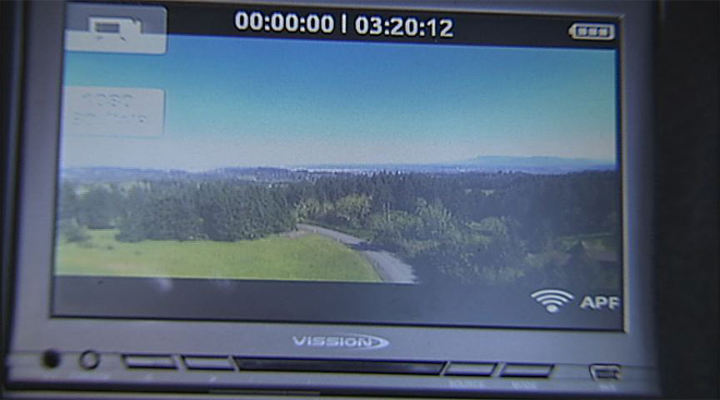 Camera on RC helicopter: 'The proof is in watching the video'