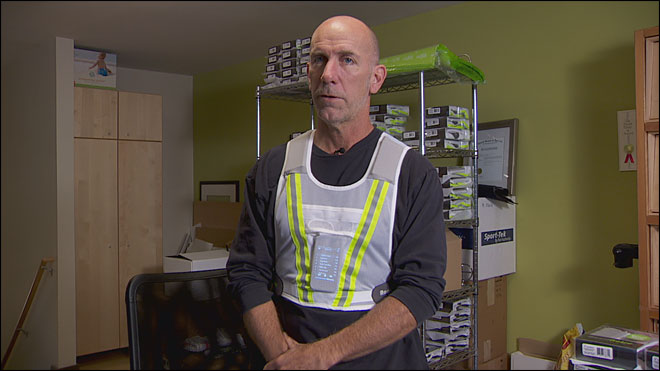 Couple creates running vest with music, safety in mind