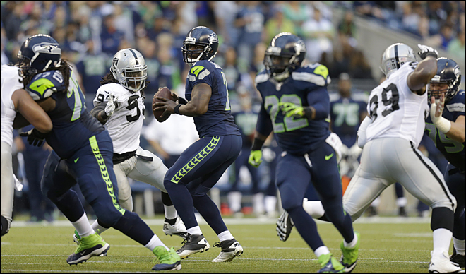 Raiders Seahawks Football