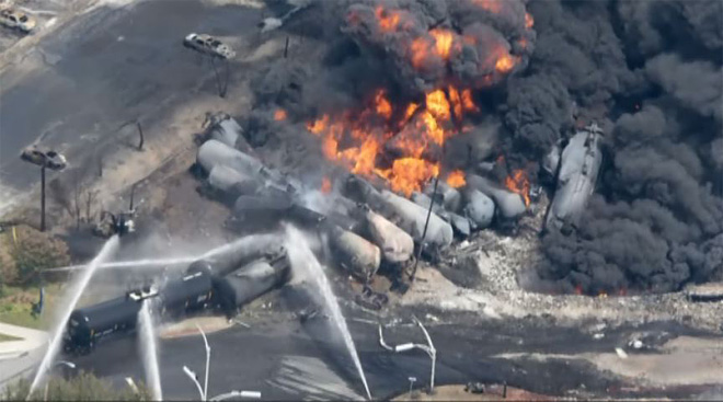 Local first responders unprepared for oil train disaster