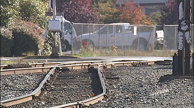 Railroad track safety in Eugene (2)
