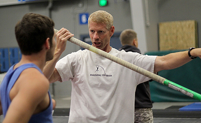 'Promote the sport of pole vault - and do it safe'