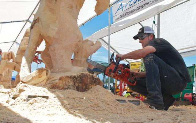 Reedsport Chainsaw Sculpting Championships 2012 (10)
