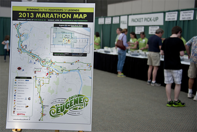 Registration for the Eugene Marathon 02