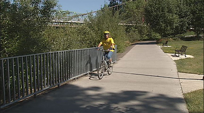 Riverbank Trails make nation's Top 10 Urban Bike Paths