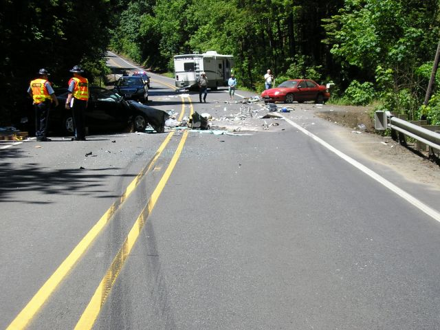 Roadway Departure Crash example