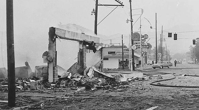 Roseburg Blast from 1959 07