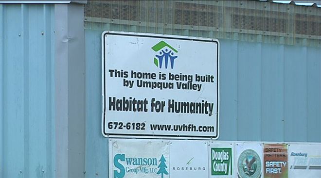 Habitat homes 9 & 10 wrapping up in Roseburg