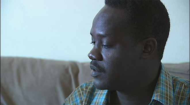 Rudwan Dawod home after captivity in Sudan