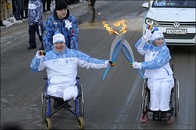 Ukraine peace sought for Paralympics in Sochi
