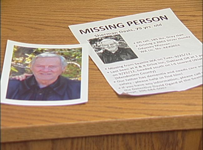 Missing Seattle man found dead on logging road near Cottage Grove