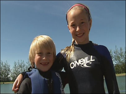 Kaptivating Kidz: Sibling water skiers