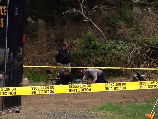 More bones found in trailer park where human skull was found