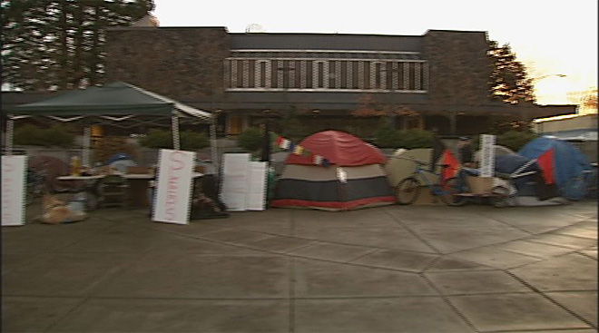SLEEPS Protest at Lane County Courthouse (1)
