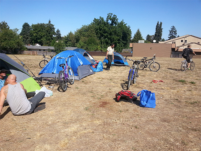 SLEEPS sets up camp in North Eugene (1)