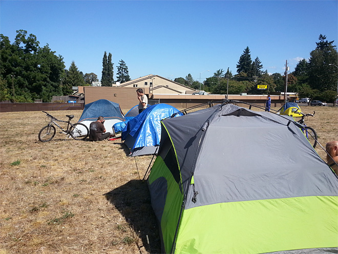 SLEEPS sets up camp in North Eugene (2)