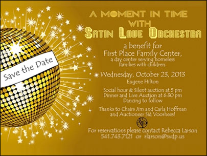 "St. Vincent de Paul's ""A Moment in Time with Satin Love Orchestra"""