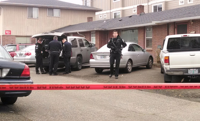 Police search S. Eugene apartment, shooting suspect caught near Gervais