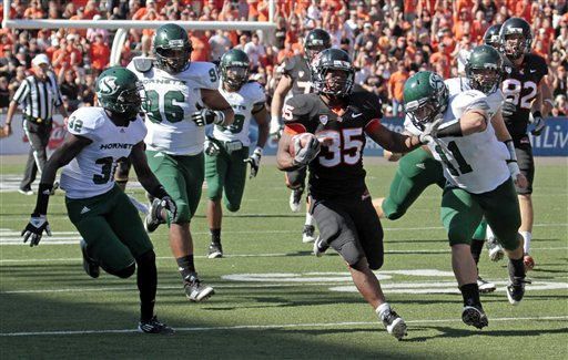 Sacrament St Oregon St Football