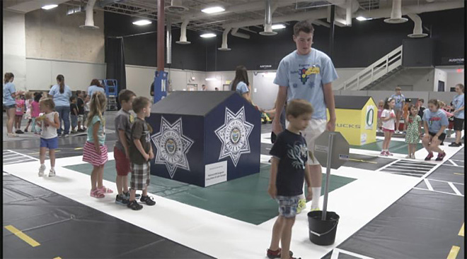 Safety Town teaches kids in a world more their size