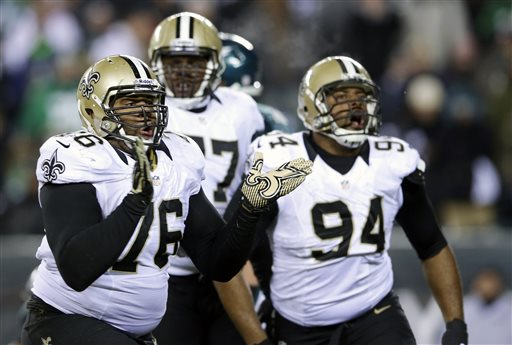 9.Saints Linebackers.