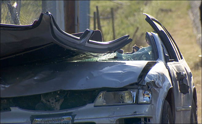 Salem Car Wreck (KATU Photo)