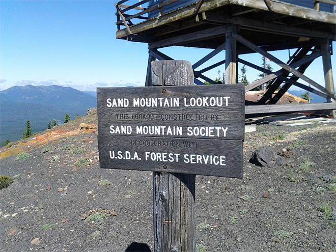 Sand Mountain Lookout