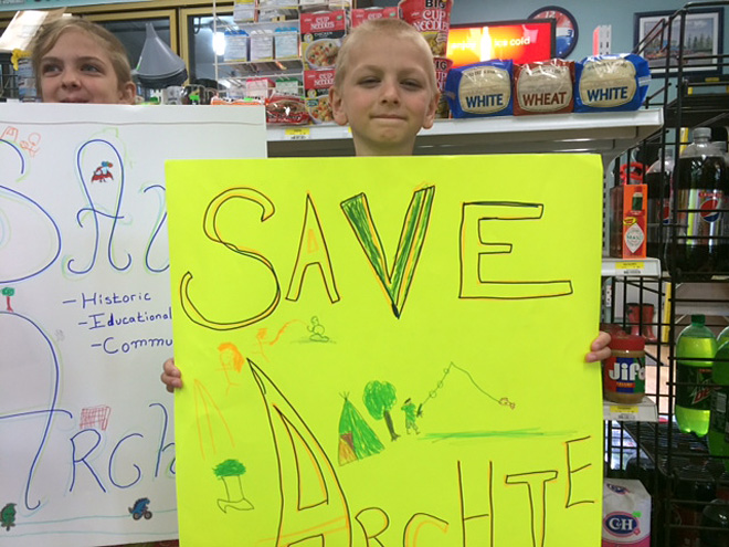 Save Archie effort in Mapleton (5)