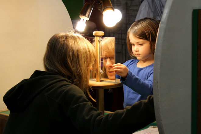 Tot Day at Science Factory: 'An alternative way to learn'