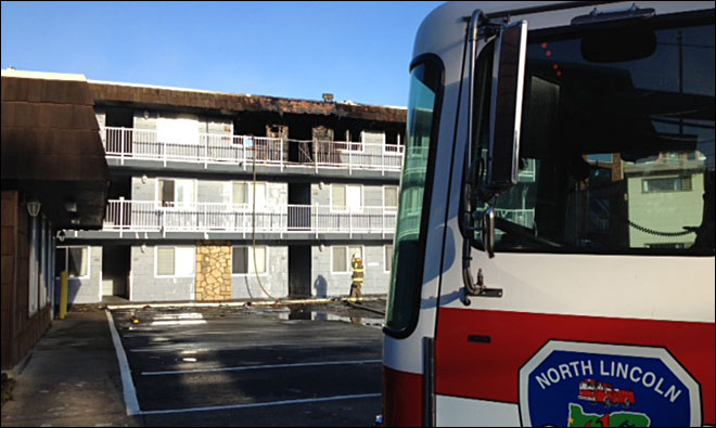 Woman injured in Lincoln City condo fire