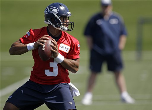 Russell Wilson: From Rose Bowl to Seahawks rookie minicamp