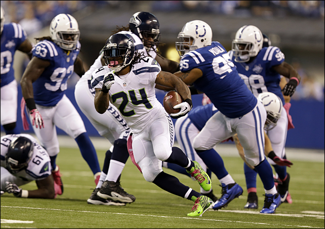 Seahawks Colts Football