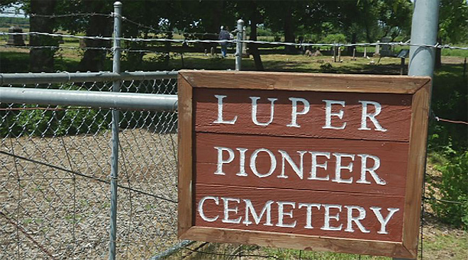 Searching lineage at the Loper Pioneer Cemetery over Memorial Day weekend04
