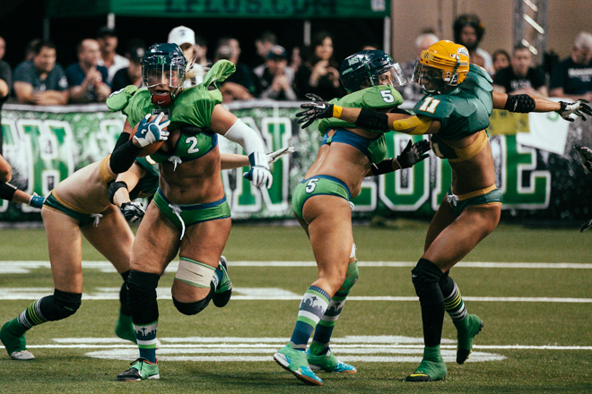 Seatte Mist defeat the Green Bay Chill