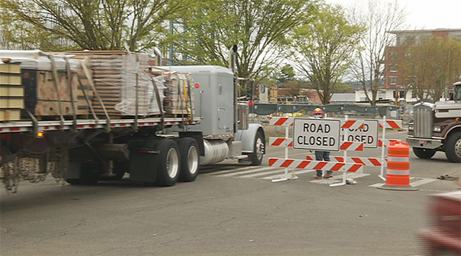 Section of Olive Street closed for 6 months