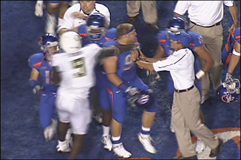 September 2009 Loses first game as head coach to Boise State