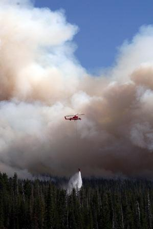 Shadow Lake fire