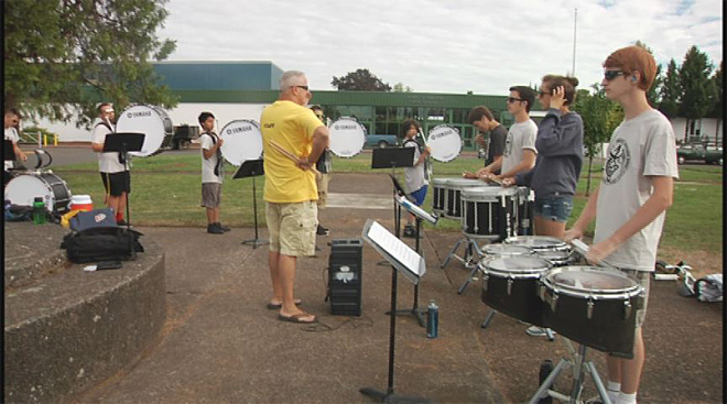 Sheldon High School marching band (10)