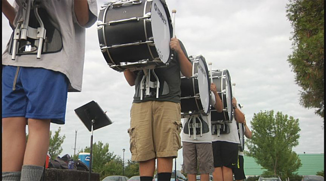 Sheldon High School marching band (9)