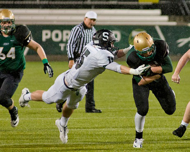 Sheldon Irish vs. Jesuit Crusaders