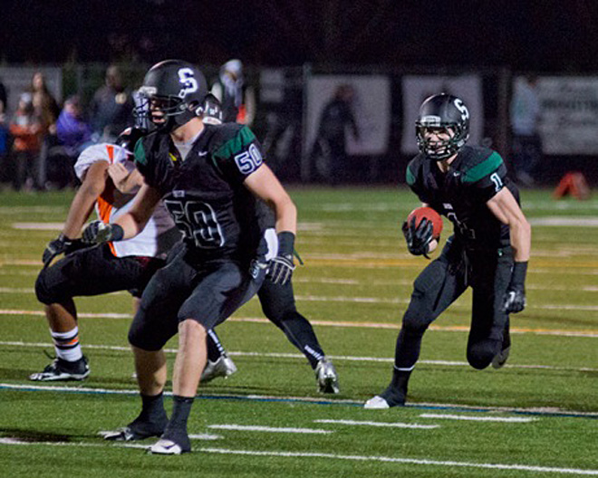 Sheldon vs. Roseburg (Photo by Dan Morrison)