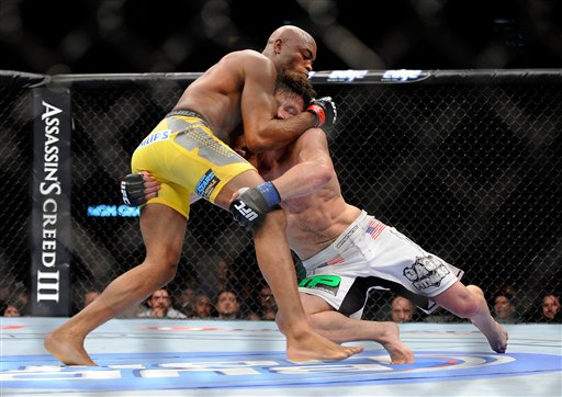 UFC 148 Mixed Martial Arts