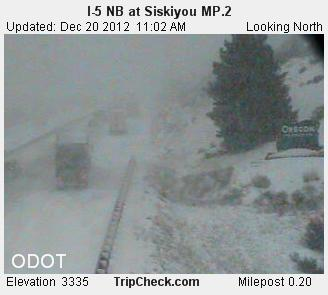 Siskiyou I-5 NB at MP.2_pid1688